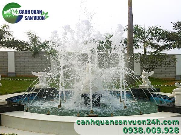 Báo giá thi công hệ thống phun nước nghệ thuật