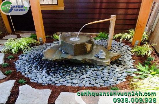 Mẫu đài phun nước trong nhà