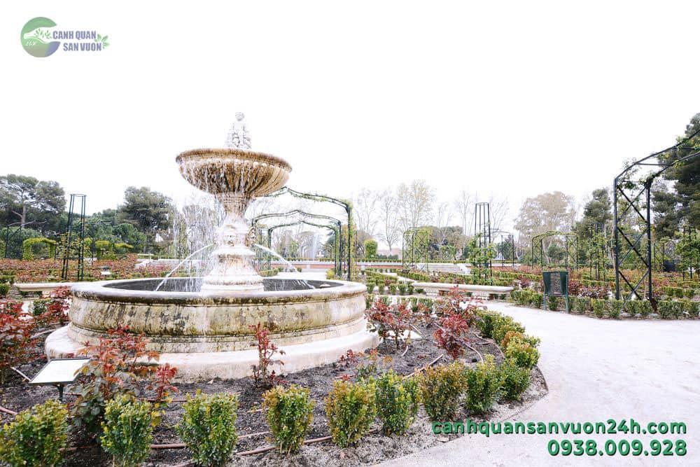 đài phun nước công viên