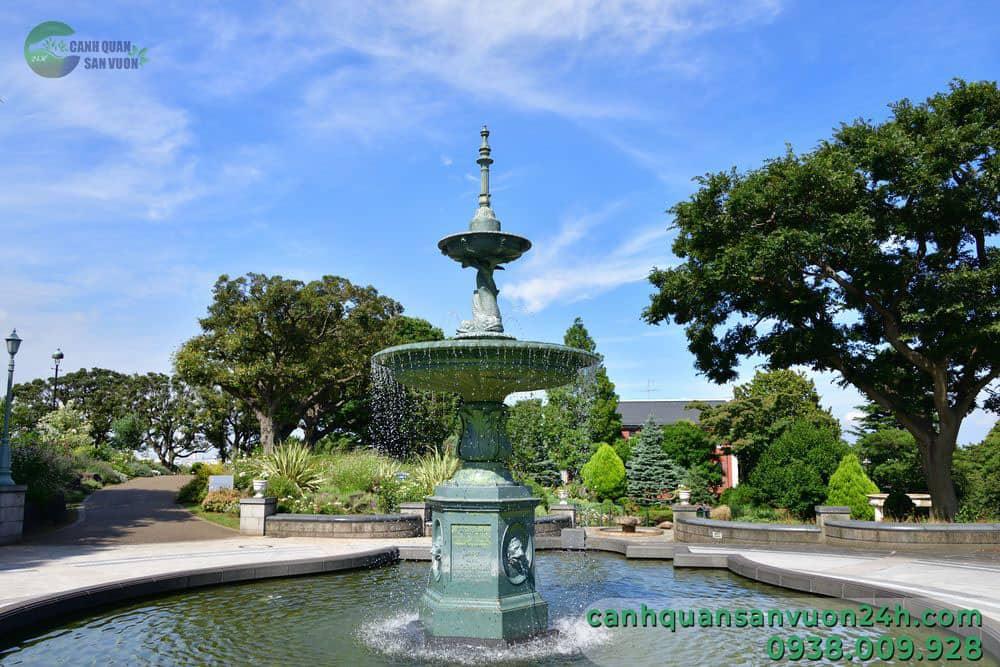 công trình đại phun nước công viên